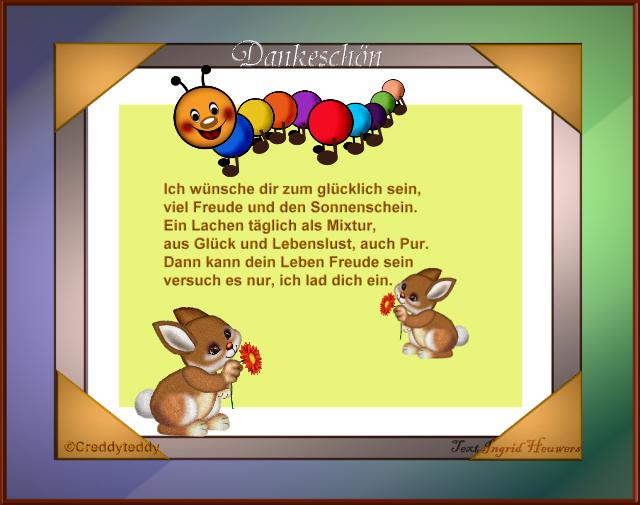 Dankbarkeit Inge Heuwers Gedichte