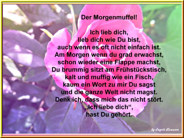 Wünsche Inge Heuwers Gedichte